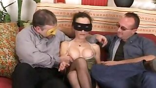 Italian Amateur Wife Threesome - Bresciana