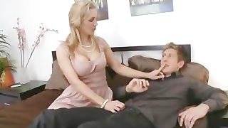Desperate MILF Fucking Young Student