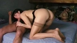 French mature in anal amateur action