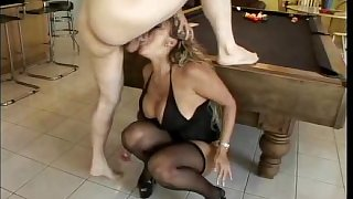 Big ass and tits MILF Ava Devine is expert cock drainer